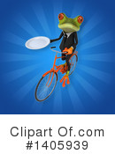 Business Frog Clipart #1405939 by Julos