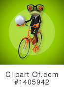 Business Frog Clipart #1405942 by Julos