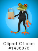 Business Frog Clipart #1406076 by Julos