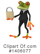 Business Frog Clipart #1406077 by Julos