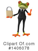 Business Frog Clipart #1406078 by Julos