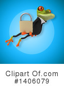 Business Frog Clipart #1406079 by Julos