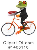 Business Frog Clipart #1406116 by Julos