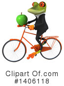 Business Frog Clipart #1406118 by Julos