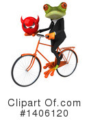 Business Frog Clipart #1406120 by Julos