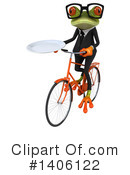 Business Frog Clipart #1406122 by Julos