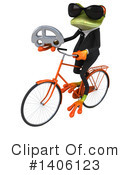 Business Frog Clipart #1406123 by Julos