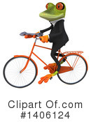 Business Frog Clipart #1406124 by Julos