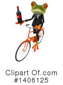 Business Frog Clipart #1406125 by Julos