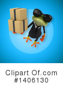 Business Frog Clipart #1406130 by Julos