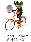 Business Frog Clipart #1406143 by Julos