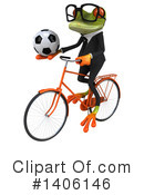 Business Frog Clipart #1406146 by Julos