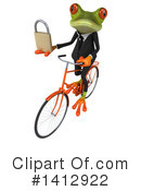 Business Frog Clipart #1412922 by Julos