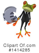 Business Frog Clipart #1414285 by Julos
