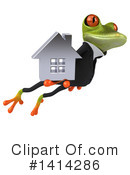 Business Frog Clipart #1414286 by Julos