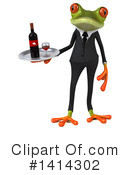 Business Frog Clipart #1414302 by Julos