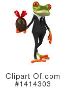 Business Frog Clipart #1414303 by Julos