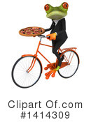 Business Frog Clipart #1414309 by Julos