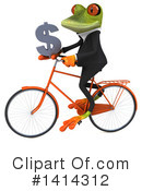 Business Frog Clipart #1414312 by Julos