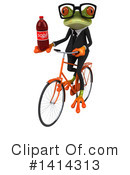Business Frog Clipart #1414313 by Julos