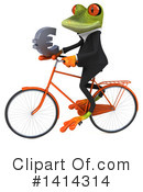 Business Frog Clipart #1414314 by Julos