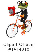 Business Frog Clipart #1414318 by Julos