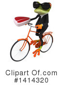Business Frog Clipart #1414320 by Julos