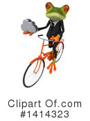 Business Frog Clipart #1414323 by Julos