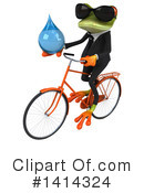 Business Frog Clipart #1414324 by Julos