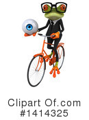 Business Frog Clipart #1414325 by Julos