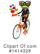 Business Frog Clipart #1414328 by Julos