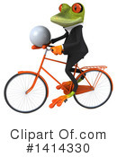 Business Frog Clipart #1414330 by Julos