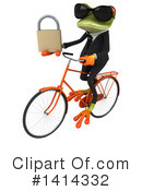 Business Frog Clipart #1414332 by Julos