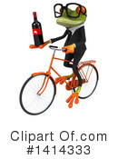 Business Frog Clipart #1414333 by Julos