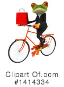 Business Frog Clipart #1414334 by Julos