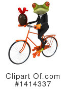 Business Frog Clipart #1414337 by Julos