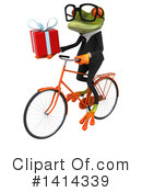 Business Frog Clipart #1414339 by Julos