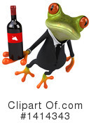 Business Frog Clipart #1414343 by Julos