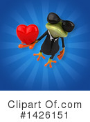 Business Frog Clipart #1426151 by Julos