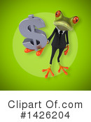Business Frog Clipart #1426204 by Julos