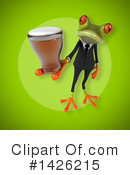 Business Frog Clipart #1426215 by Julos