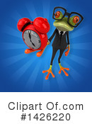 Business Frog Clipart #1426220 by Julos