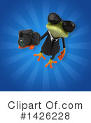 Business Frog Clipart #1426228 by Julos