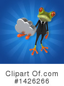 Business Frog Clipart #1426266 by Julos