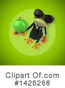 Business Frog Clipart #1426268 by Julos