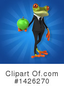 Business Frog Clipart #1426270 by Julos