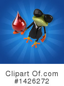 Business Frog Clipart #1426272 by Julos