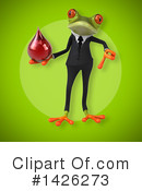 Business Frog Clipart #1426273 by Julos