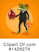 Business Frog Clipart #1426274 by Julos