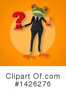 Business Frog Clipart #1426276 by Julos